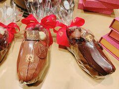 Maryのショコラティエに立ち寄り。 この靴チョコ、いくらするんだろう?