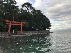 大瀬崎も御浜岬も海流が運んだ砂が堆積してできた砂嘴で、それぞれに特徴的な植生の樹林となっています。
