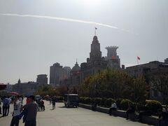 バンドの洋館の並びも the 上海!