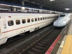 あっという間に博多駅に着き、新幹線に乗り換え。  JR九州で早めに申し込むと、熊本まで2,000円程で行けるのですね。 びっくりしました。  そして九州新幹線、座席も広く超快適でした・・・