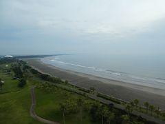 今日はちょっと曇り気味。でも天気の崩れはない予報。 海からの日の出が見られず、それが残念。