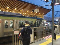 旗の台から蒲田に向かいます。