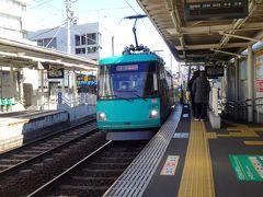 世田谷線は日中6分間隔の運行。  同じ6分間でも都営三田線より短く感じるのは何故だろう?