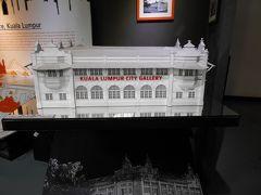 3番目、シティ・ギャラリー。 入場料は、RM10ですが、RM5のバウチャー付きです。 写真は、館内の模型。入口は写真を撮る観光客が多かったので・・・