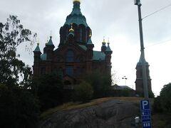 ウスペンスキー大聖堂。 まだオープン前