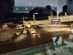 新千歳空港到着。 空港には、全然雪がない。