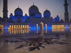 マジックアワーのモスク