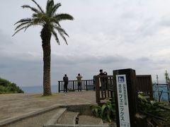 宮崎市内に入ったら、あちこちにヤシの木があって外国に来たみたい。  堀切峠を越えて「道の駅 フェニックス」へ。