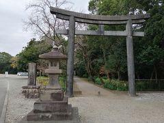 今度こそしっかりパワーをいただきたい!と、江田神社へ。  ここには、日本で最初に夫婦になったイザナギノミコトとイザナミノミコトが祀られているそうです。
