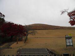 若草山に到着。 子供の時に遠足で登った以来。