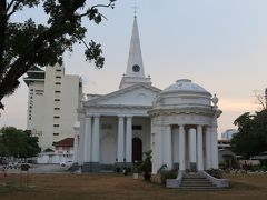セント・ジョージ教会。1818年に建てられ、東南アジアでは最古のイングランド国教会とのこと。ペナン島は東インド会社の拠点でした。