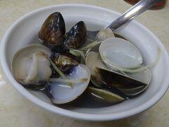 蛤スープ(身がプリプリで出汁も効いて旨い、お薦めです)