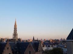 ブリュッセル最終日の朝です。今日も快晴。