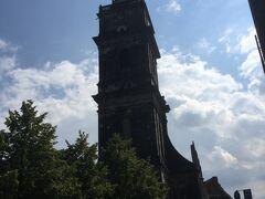 ハノーファー エギディエン教会  あとでわかったことですが ここに 日本から送られた 平和の鐘があるそうです。