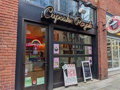 シアトル コーヒー ワークスのお隣りの「Cupcake Royale」というカップケーキ屋さん。