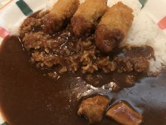 梅田のカレーハウス「ピヨ」で夕食をとった日  激辛王子がワーホリ時代にバイトしていたお店です  店長やホールの知り合いもいて、楽しかった~