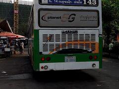 その後、市内をウロウロ。  こちらは、タラートサオのバスターミナル。 日本の古いバスが現役バリバリで活躍してます。