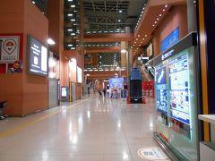 関西国際空港の到着ロビー。Youの番組でお馴染みの到着ロビーです。