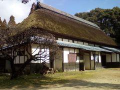 改めて順路に従い見学。旧布施家住宅。新潟県上越市から移築されていた。