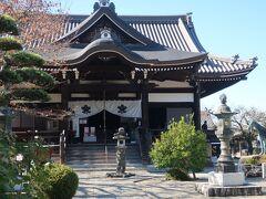 橘寺本堂。