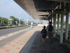 バスの本数が少なかったので台鉄使ったけど電車の本数も少なくて失敗だったかしら?? でも乗ってよかったです。 ここから目的地まで少し歩きます。