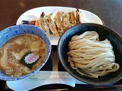 日本で最後の食事は六厘舎のつけ麺と餃子です。 ここ数年、海外渡航時にはかならずといっていいほど六厘舎に寄っています。