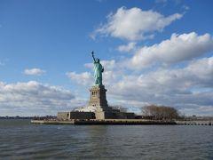 リバティアイランドの自由の女神像