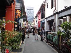 〇アラブストリート ・写真はハジレーン ・ブギスから徒歩5分 ・様々なおしゃれなお店と壁アートで有名です