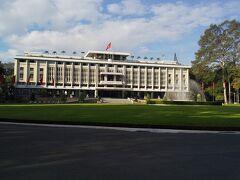 ここは統一会堂、南ベトナムの大統領官邸てす。