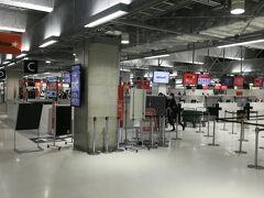 成田空港第三ターミナル。五週間連続で来ている成田空港であります。