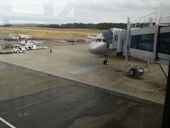 ほぼ定刻で庄内空港到着。15時前です。