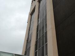 約30分程でホテル到着。酒田市内で一番高さのある建物の様子です。
