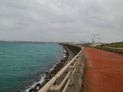 さて、走りますか! ということでいつものリゾートコース走ってるんですが曇ってるし風強いしでした。