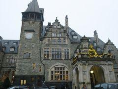 今回宿泊するのはシュロスホテル・クロンベルク(城名:フリードリヒスホーフ城)です。 外観はまるでハリーポッターに出てきそうな雰囲気です。