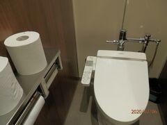 サンレモ公園のトイレは洗浄便座。
