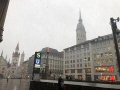 翌日もフライトキャンセル。天気悪いけど、市内来ました。雪降って寒いです。