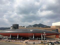 てつのくじら館にも行きます。 こちらは海上自衛隊の博物館です。 機雷というものを初めて知りました!!!大変な任務に就いているんだなぁと改めて知りました。 そして、潜水艦!!!! ほんとうに自衛隊の皆さんには頭が下がります。