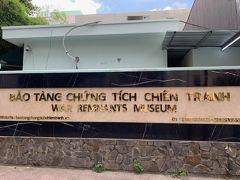 ベトナム戦争証跡博物館に到着です。