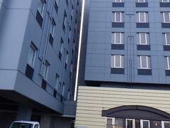 ホテルつかさ福知山。 福知山駅から徒歩10分くらいの場所にある。