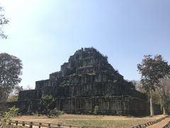 コーケー遺跡群の中で一番大きなピラミッド型の遺跡です。