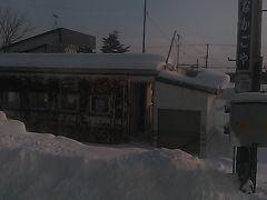 当別町の最北駅として知られる中小屋駅。  札沼線の廃線後は、北海道医療大学駅が当別町の最北駅となるのか…。