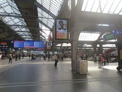 16:30ごろチューリッヒ中央駅に戻りました。