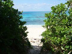 次はお初の「長間浜」  来間島の西側にある穴場的なビーチ