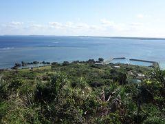 じゃーん 大神島のてっぺんに到着  展望デッキからはこの景色 まさに360度パノラマビュー!
