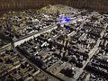 ザグレブ中心街模型