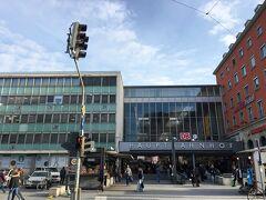 ホテルから歩いてすぐ、ミュンヘン中央駅から出発します。 いい天気!