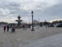 エルメスから近いコンコルド広場へ