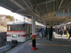 ★12:35  奥日光への玄関口、東武日光までは約2時間で到着。 この先はバスの旅となりますが…
