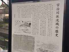 伏見十石舟の弁天橋下の船着場!