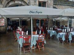 シェ ラパン ドウロ川沿いのレストランです。 これは開店前です。 混雑しているかも?なので オープン時間に行きました。